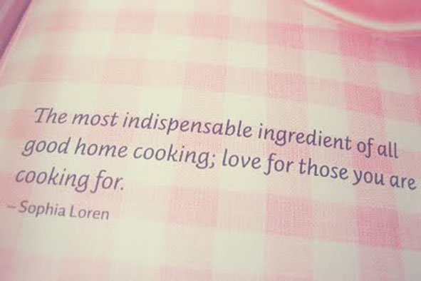 The most important ingredient..