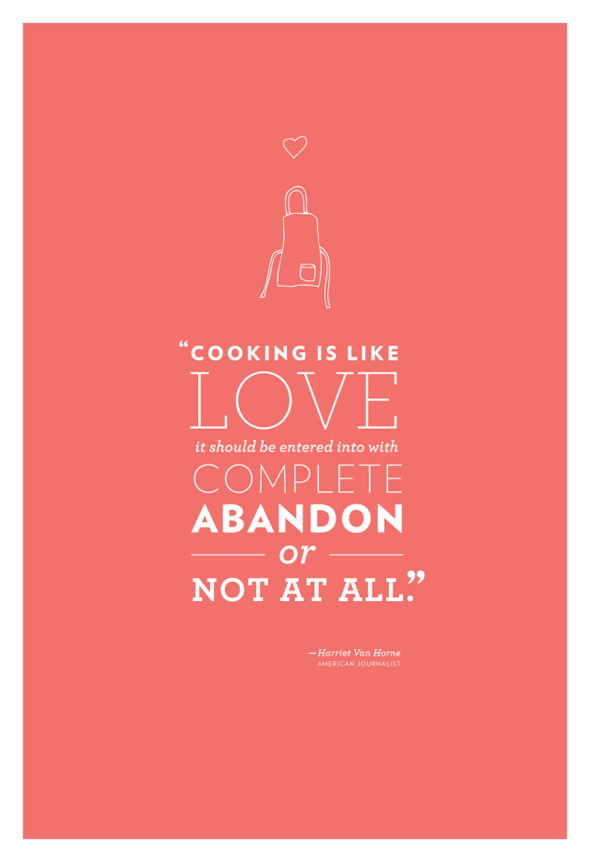 Cooking is like love