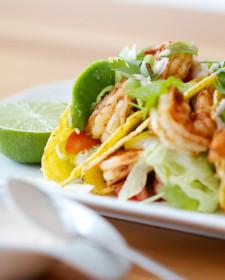 Taco scampi