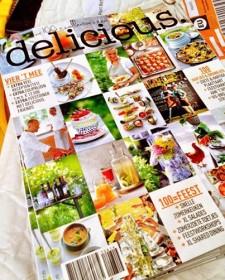 100e editie van Delicious. Magazine