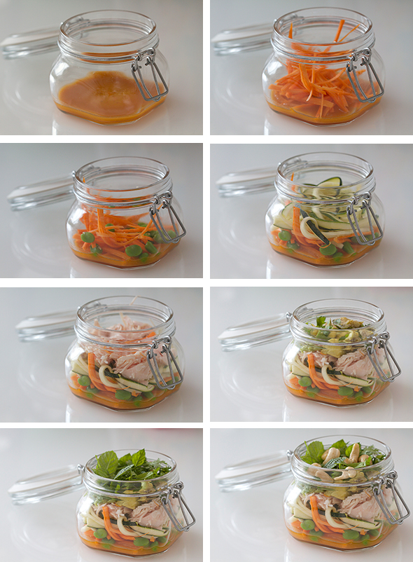 Collagesaladjar