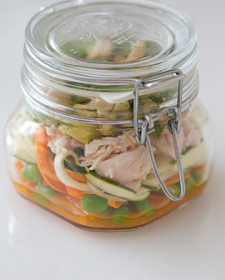Salad in a jar #targetkip