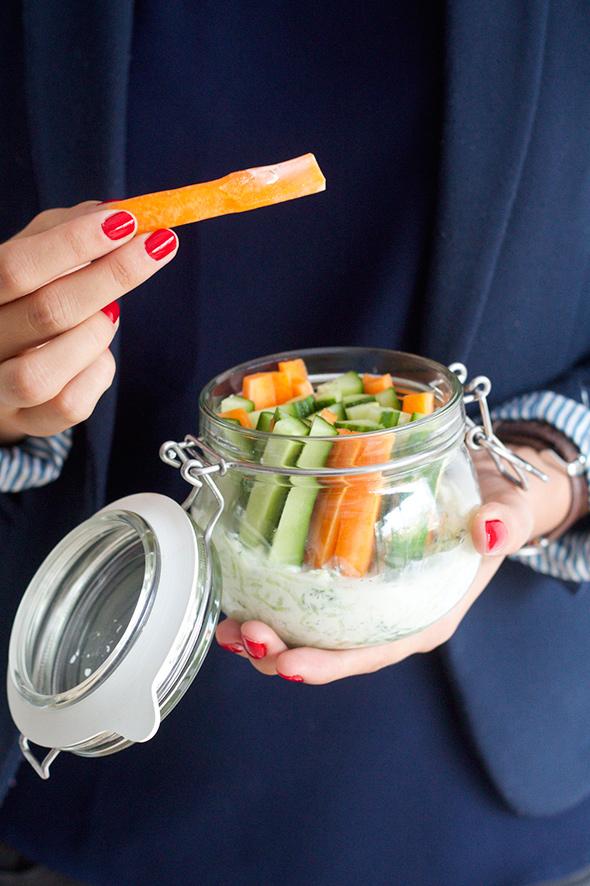 Op stap met Tzatziki en groentjes