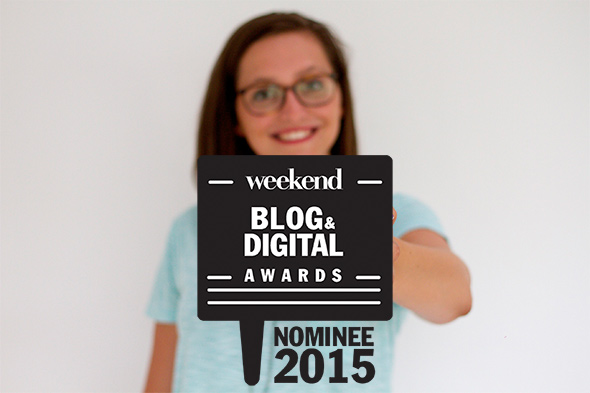 Weekend Blog Awards Finalist