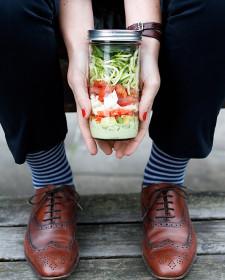 Power Salad in a jar