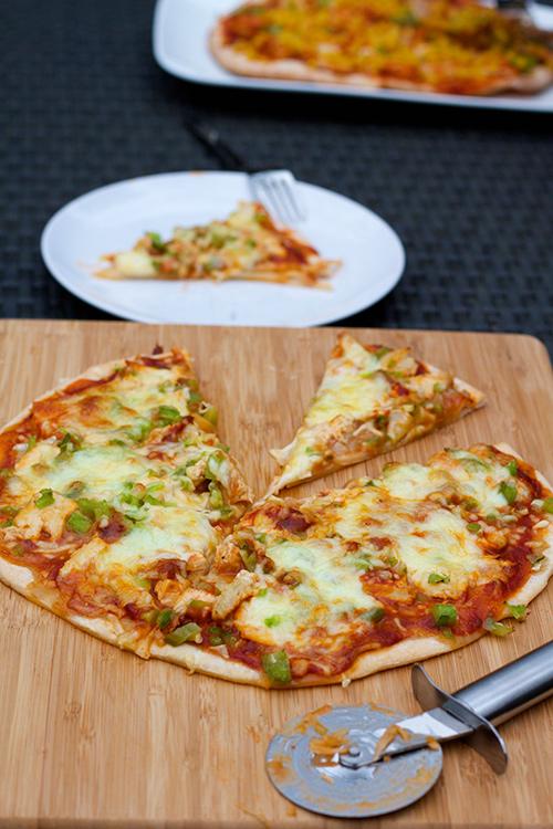 Pizza kip enchilada