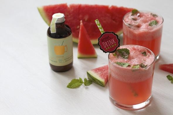 Watermeloen-dag!