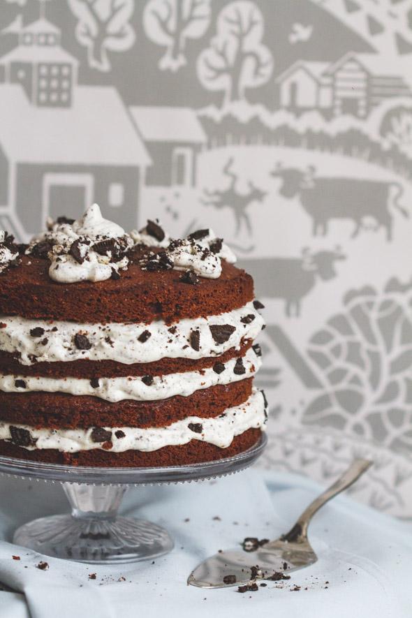 Cookies & Cream taart