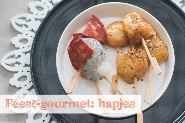 Feest – gourmet: Hapjes