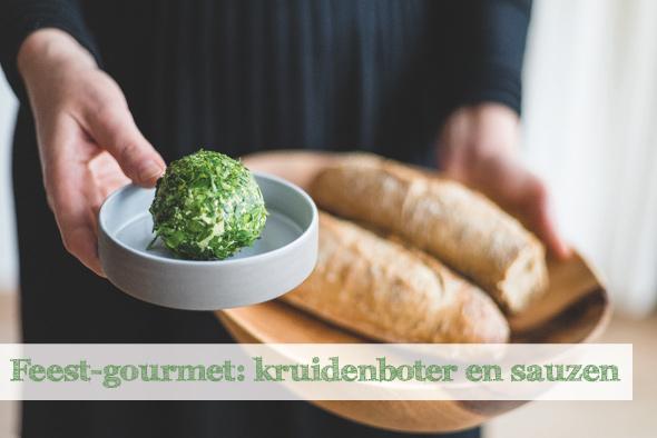 Feest-gourmet: Kruidenboter en sauzen