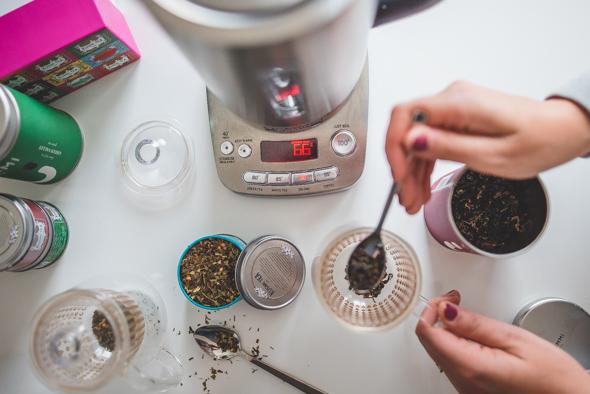 Kook jij je water om thee te zetten?
