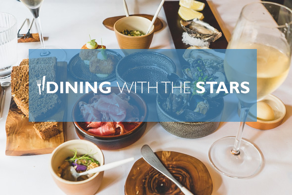 Dining with the stars: 4 -17 september 2017