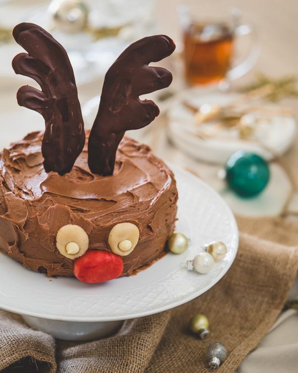 Rudolf chocoladetaart